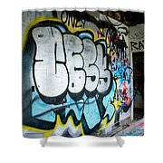 Graffiti 4 Shower Curtain