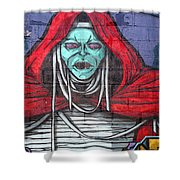 Graffiti 8 Shower Curtain