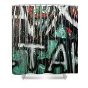 Graffiti Abstract 1 Shower Curtain