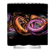 Graffiti Abstract Shower Curtain