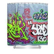 Graffiti Art 05102017a Shower Curtain
