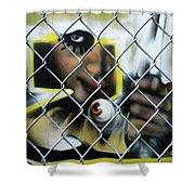 Graffiti Art 1 Shower Curtain