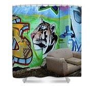 Graffiti Art Albuquerque New Mexico 7 Shower Curtain