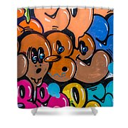 Graffiti Art Nyc 10 Shower Curtain