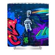 Graffiti Art Nyc 14 Shower Curtain