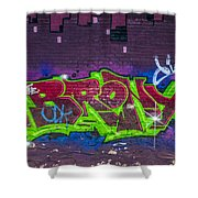 Graffiti Art Nyc 2 Shower Curtain