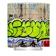 Graffiti Art Nyc 3 Shower Curtain