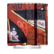 Graffiti Closeup Shower Curtain