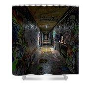 Graffiti Tunnel Shower Curtain