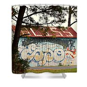 Grafitti One Shower Curtain