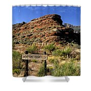 Grafton Cemetery Shower Curtain