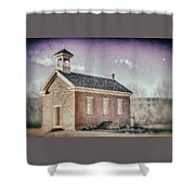 Grafton Church Side Old Look Shower Curtain