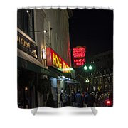 Grafton Street Pub And The Hong Kong In Harvard Square Cambridge Ma Shower Curtain