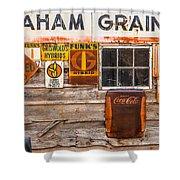 Graham Grain Company Shower Curtain