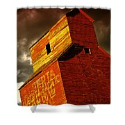 Grain Elevator Shower Curtain