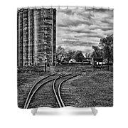 Grain Elevators 15222 Shower Curtain