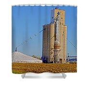 Grain Storage Hdr No1 Shower Curtain