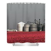 Grain Storage Infrared No1 Shower Curtain