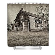 Grain Weigh Depot Shower Curtain