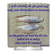 Grains Of Sand Shower Curtain