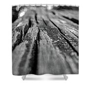 Grains Of Wood Shower Curtain