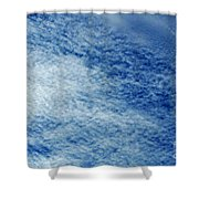 Grainy Sky Shower Curtain