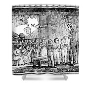 Grammar School, 1790s Shower Curtain