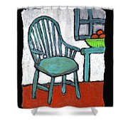 Grampa's Empty Chair Shower Curtain