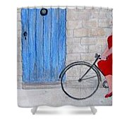 Gran In Provence Shower Curtain