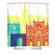 Granada Skyline Pop Shower Curtain