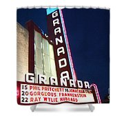 Granada Theater Shower Curtain