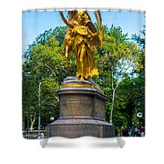Grand Army Plaza 1 Shower Curtain