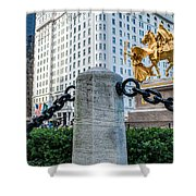 Grand Army Plaza 14 Shower Curtain