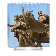 Grand Army Plaza 4 Shower Curtain