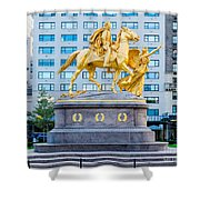 Grand Army Plaza 5 Shower Curtain