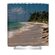 Grand Bahamas Beach Shower Curtain