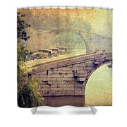 Grand Canal Bridge Suzhou Shower Curtain