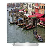 Grand Canal, Venice, Italy Shower Curtain