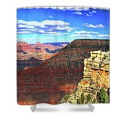 Grand Canyon # 22 - Mather Point Overlook Shower Curtain
