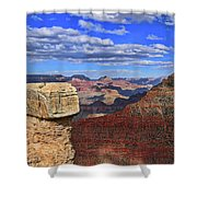 Grand Canyon # 29 - Mather Point Overlook Shower Curtain