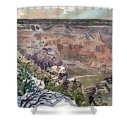Grand Canyon 08 Shower Curtain