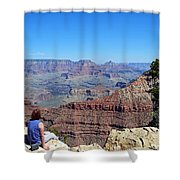 Grand Canyon 14 Shower Curtain
