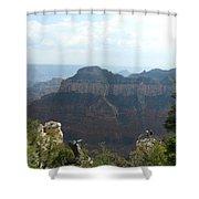 Grand Canyon 8 Shower Curtain