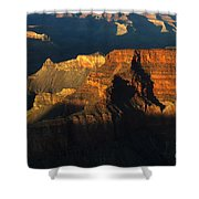 Grand Canyon Arizona Light And Shadow 2 Shower Curtain