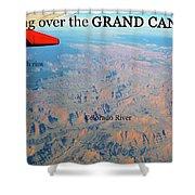 Grand Canyon Flight Shower Curtain