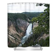 Grand Canyon In Wyoming Shower Curtain