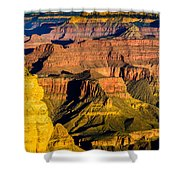 Grand Canyon Morning Light Shower Curtain