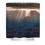 Grand Canyon Morning Light Show Pano Shower Curtain