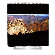 Grand Canyon National Park Arizona Panorama Shower Curtain