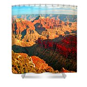 Grand Canyon National Park Sunset On North Rim Shower Curtain